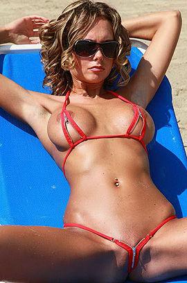 Hottest Red Bikini