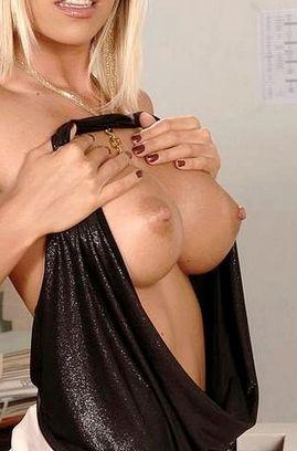 Sexy Blond Secretary