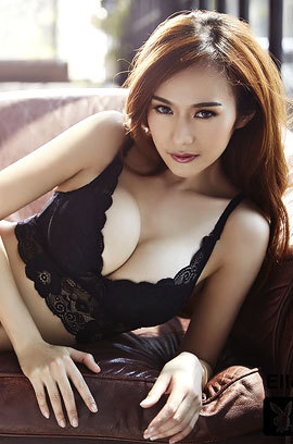 Gorgeous Thai Playmate Elle