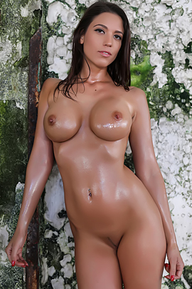 Oiled Body Looks Better