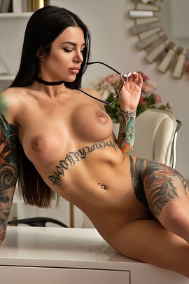 Tattooed Gorgeous Eva