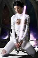 Glamour Pornstar In A Star Wars Cosplay