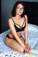 Keira Blue In Glasses